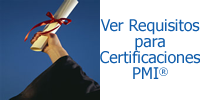 Requisitos para Certificaciones PMI