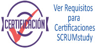 Requisitos para Certificaciones SCRUMstudy